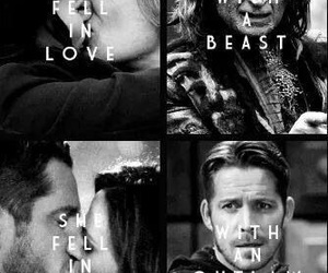 once upon a time and snowing image