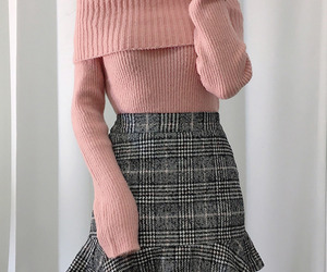 asian fashion, knit, and top image