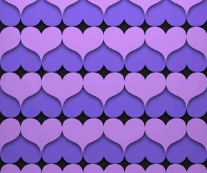 background, I Love You, and purple image