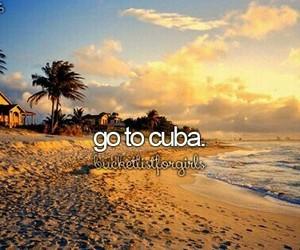 travel, bucketlist, and cuba image