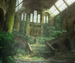 abandoned, beautiful, and Temple image