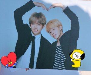 bts, taehyung, and jimin image