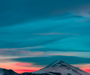 background, blue, and clouds image