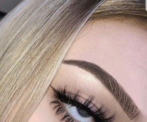 aesthetic, makeup, and blonde image