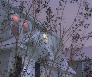 house, aesthetic, and purple image