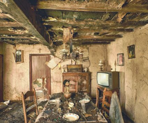 abandoned, house, and old image