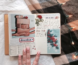 aesthetic, journals, and bujo image