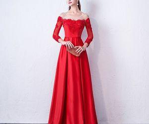 elegant, evening dress, and girl image
