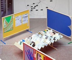 printed matter, books display, and biennale brno image
