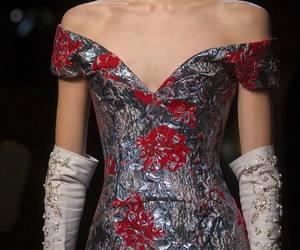 dress, girls, and high fashion image