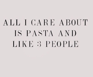 pasta, quotes, and food image