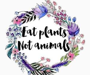 vegan, vegetarian, and animals image