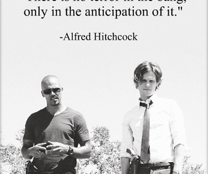 black and white, criminal minds, and quotes image