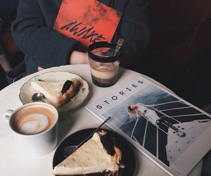 breakfast, cafe, and cake image