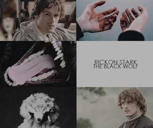 game of thrones and rickon stark image