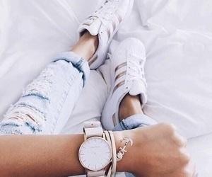 adidas, fashion, and watch image
