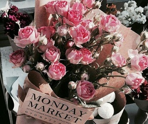 tumblr inspiration, rose gold pink, and flowers roses plants image