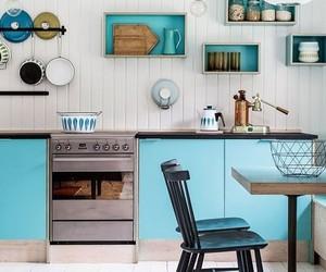 cocina, decoracion, and vintage image