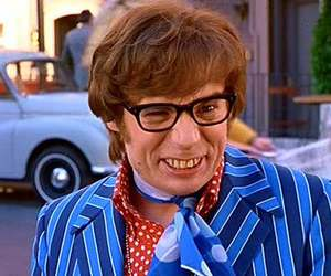 funny and austin powers image