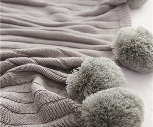 blanket, gray, and grey image