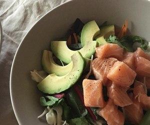 breakfast, food, and salad image