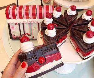 bag, xmas, and cake image