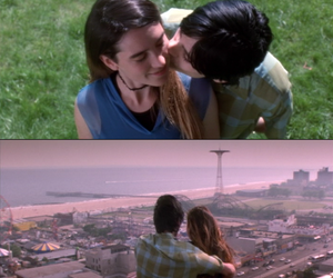 couple, requiem for a dream, and love image