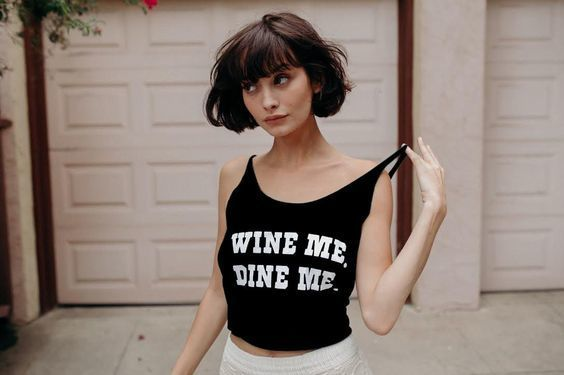 girl, aesthetic, and short hair image