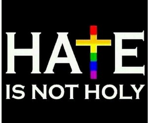 colorful, cross, and hate image