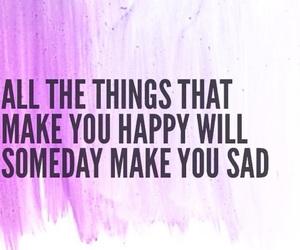 quote, sad, and true image