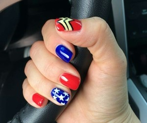 beauty, nails, and heroes image