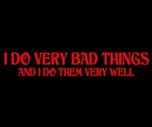 bad, quotes, and red image