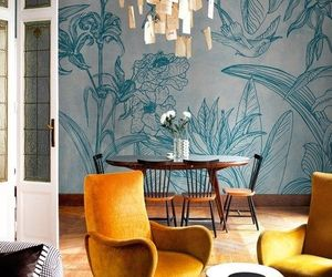 design, mustard, and home image