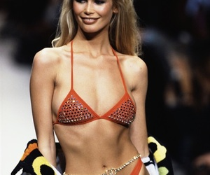 90s, chanel, and Claudia Schiffer image