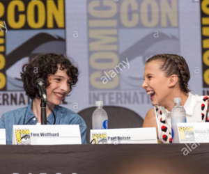 stranger things, friends, and finn wolfhard image