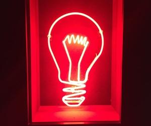 light bulb, lights, and neon image