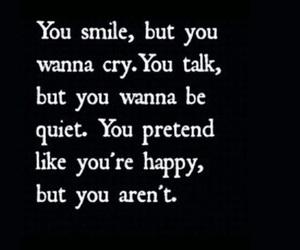 sad, cry, and happy image
