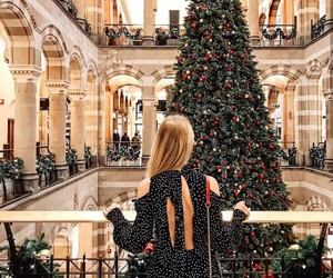 christmas, fashion, and christmas tree image