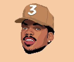 3, pixel, and dope art image