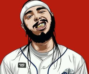 dope art and post malone image
