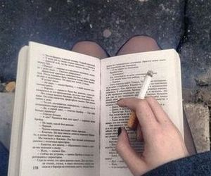 book and cigarette image