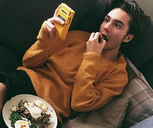 food, gameboy, and me image