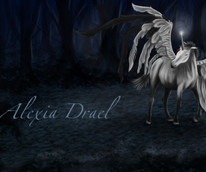 darkart, pegasus, and mond image