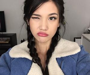 girl, tumblr, and asian image