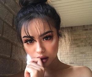 brunette, tumblr instagram, and comfy image