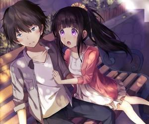 anime, manga, and hyouka image