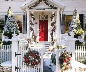 christmas, christmas tree, and home image