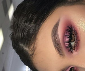 beauty, style, and eye makeup image