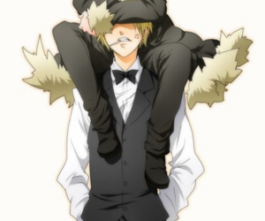 anime, durarara, and izaya orihara image