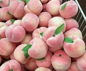 peach, pink, and fruit image